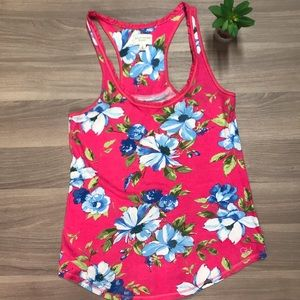 Hilly Hicks Tropical Floral Tank